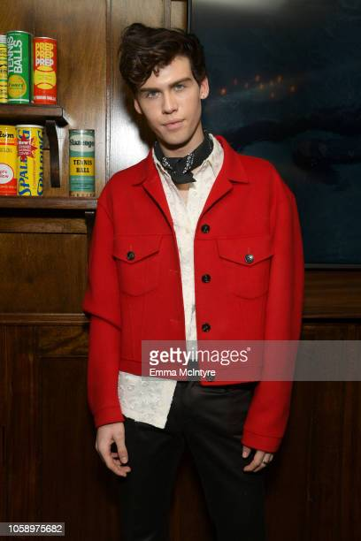 Aidan Alexander attends The Hollywood Reporter's Next Gen 2018 Celebration at 40 LOVE on November 7 2018 in Los Angeles California