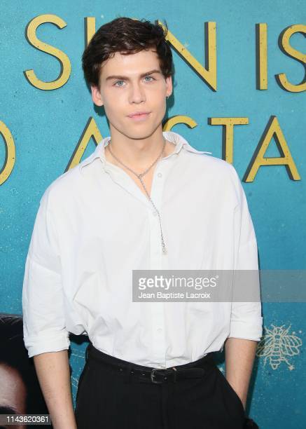 Aidan Alexander attends the World Premiere Of Warner Bros The Sun Is Also A Star at Pacific Theaters at the Grove on May 13 2019 in Los Angeles...