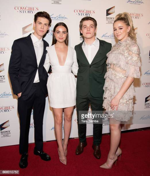 Aidan Alexander Bailee Madison Froy Gutierrez and Chloe Lukasiak arrive to the premiere of Samuel Goldwyn Films' 'A Cowgirl's Story' at Pacific...