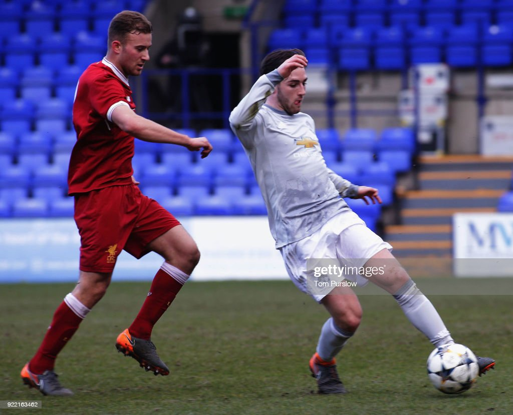 Liverpool v Manchester United: UEFA Youth League : News Photo