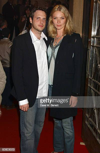 Aidan Butler and Jodie Kidd attend the Gumball 3000 '6 Days In May' DVD Premiere and launch party for this year's rally at Victoria House Bloomsbury...