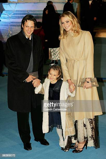 Aidan Butler guest and Jodie Kidd arrive at the Royal Film Performance and World Premiere of 'The Chronicles Of Narnia' at the Royal Albert Hall on...