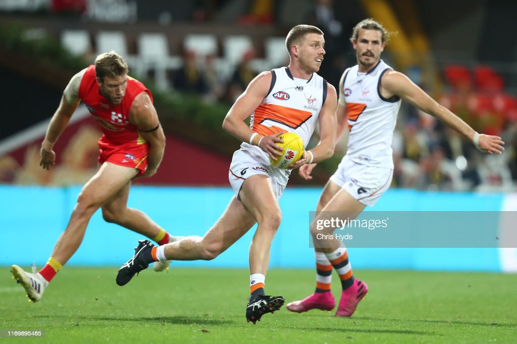 AFL Rd 23 - Gold Coast v GWS : News Photo