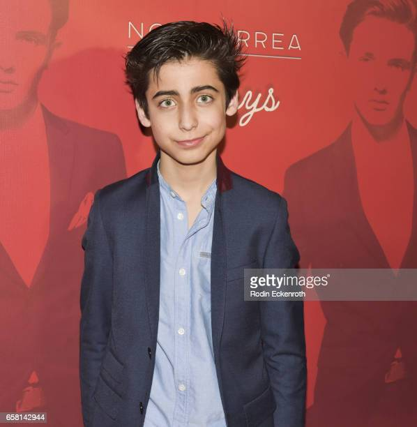 Aidan Gallagher attends Noah Urrea's 16th Birthday with EP Release Party at Avalon Hollywood on March 26 2017 in Los Angeles California
