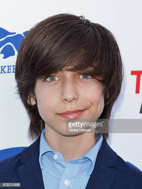 Aidan Gallagher attends the 'Keep It Clean A Live Comedy Benefit For Waterkeeper Alliance' at Avalon on April 21 2016 in Hollywood California