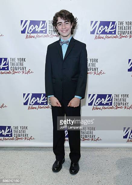 Aidan Gemme attends 'You're A Good Man Charlie Brown' opening night after party at Dylan's Candy Bar on May 31 2016 in New York City