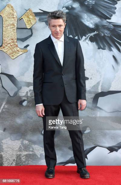 Aidan Gillen attends the European premiere of 'King Arthur Legend of the Sword' at Cineworld Empire on May 10 2017 in London United Kingdom