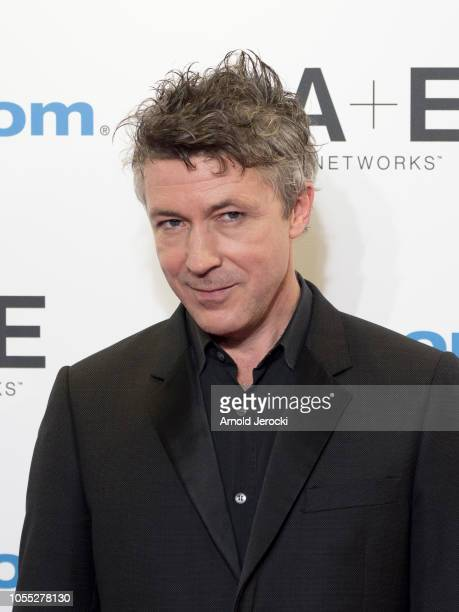 Aidan Gillen attends the opening ceremony red carpet of the MIPCOM 2018 on October 15 2018 in Cannes France