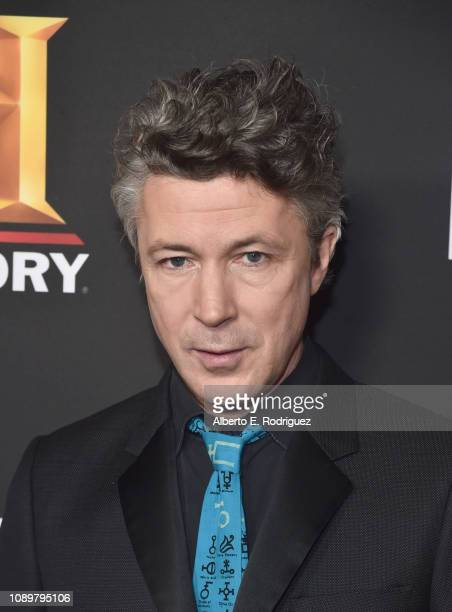 Aidan Gillen attends the premiere of History Channel's Project Blue Book at Simon House on January 03 2019 in Beverly Hills California