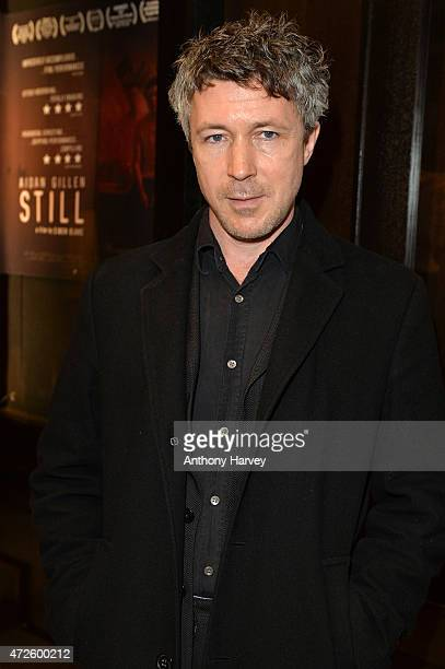 Aidan Gillen attends the UK Premiere of 'Still' at Regent Street Cinema on May 8 2015 in London England