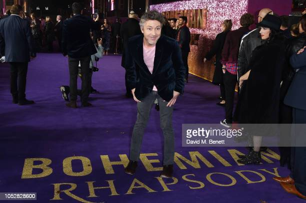 Aidan Gillen attends the World Premiere of 'Bohemian Rhapsody' at The SSE Arena Wembley on October 23 2018 in London England