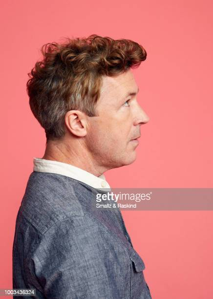 Aidan Gillen from AE Studios and Compari Entertainment's 'Project Blue Book' poses for a portrait at the Getty Images Portrait Studio powered by...