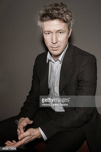 Aidan Gillen poses for Self Assignment on February 10 2015 in Berlin Germany