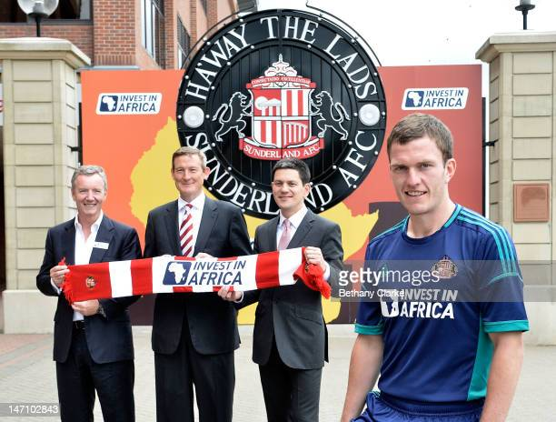 Aidan Heavey CEO Tullow Oil plc Chairman of Sunderland AFC Ellis Short Chairman of Sunderland AFC David Miliband ViceChairman of Sunderland AFC and...
