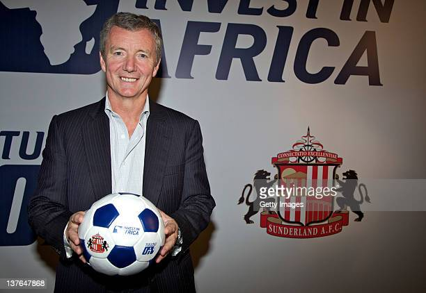 Aidan Heavey Chief Executive Tullow Oil plc attends the launch of 'Invest in Africa' on January 24 2012 in Accra Ghana