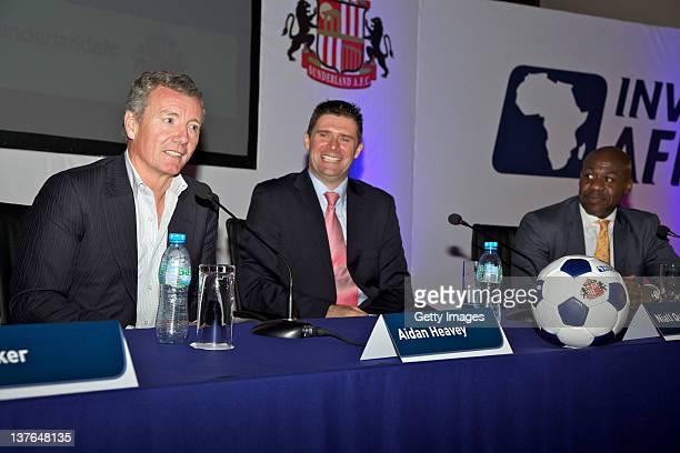 Aidan Heavey Chief Executive Tullow Oil plc Niall Quinn Director of International Development Sunderland AFC and Tutu Agyare Nonexecutive Director...