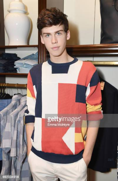 Aidan J Alexander at the Brooks Brothers Beverly Hills summer camp party benefitting St Jude Children's Research Hospital at Brooks Brothers Rodeo on...