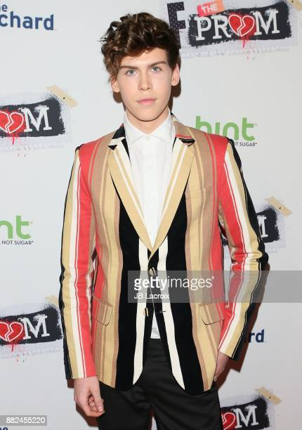 Aidan J Alexander attends the premiere of The Orchard and Fine Brothers Entertainment's 'F*% The Prom' on November 29 2017 in Los Angeles California