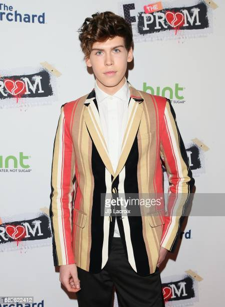 Aidan J Alexander attends the premiere of The Orchard and Fine Brothers Entertainment's 'F*% The Prom' on November 28 2017 in Los Angeles California