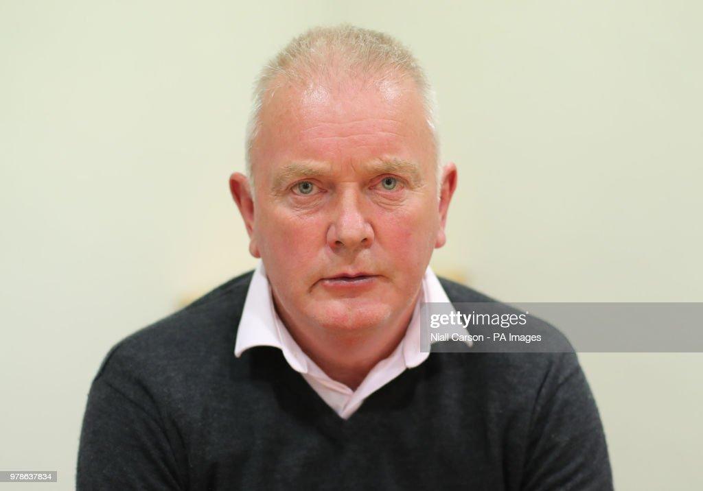 Aidan McAnespie death investigation : News Photo