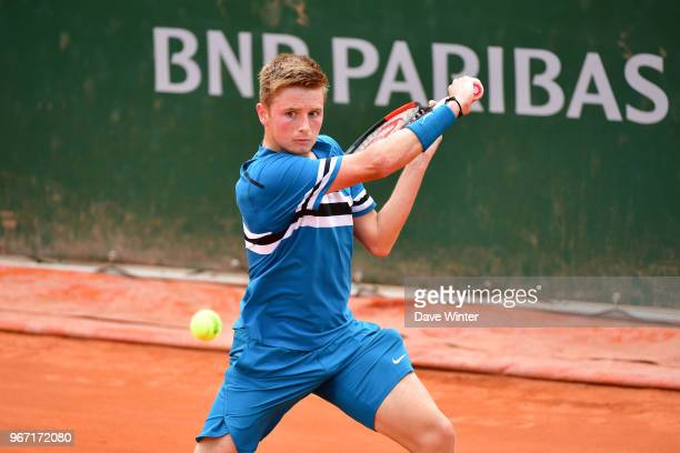 Aidan McHugh of Great Britain during Day 9 of the French Open 2018 on June 3 2018 in Paris France