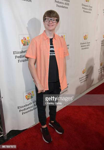 Aidan Miner at The Elizabeth Glaser Pediatric AIDS Foundation's 28th annual 'A Time For Heroes' family festival at Smashbox Studios on October 29...