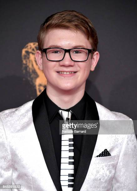 Aidan Miner attends day 2 of the 2017 Creative Arts Emmy Awards on September 10 2017 in Los Angeles California
