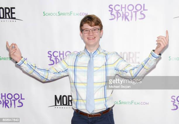 Aidan Miner attends School Spirits Premiere on October 6 2017 in Beverly Hills California
