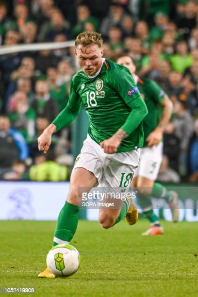 Aidan O'Brien seen in action during the Rep of Ireland vs Wales UEFA Nations League match at the Aviva Stadium Final Score Ireland 01 Wales