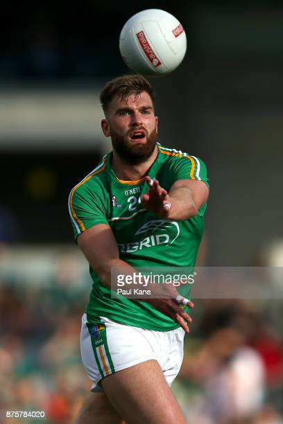 Aidan O'Shea of Ireland hand passes the ball during game two of the International Rules Series between Australia and Ireland at Domain Stadium on...