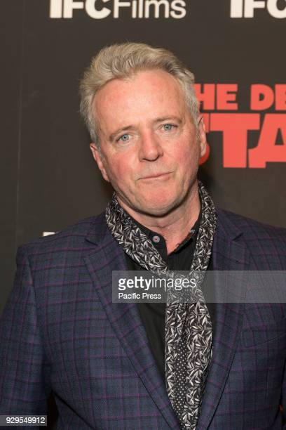 Aidan Quinn attends New York premiere of IFC Film Death of Stalin at AMC Lincoln Square