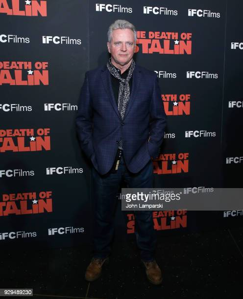 Aidan Quinn attends 'The Death Of Stalin' New York premiere at AMC Lincoln Square Theater on March 8 2018 in New York City