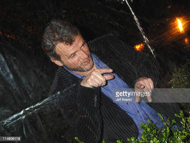 Aidan Quinn during HBO 2007 PreGolden Globes Party at Chateau Marmont in Los Angeles California United States