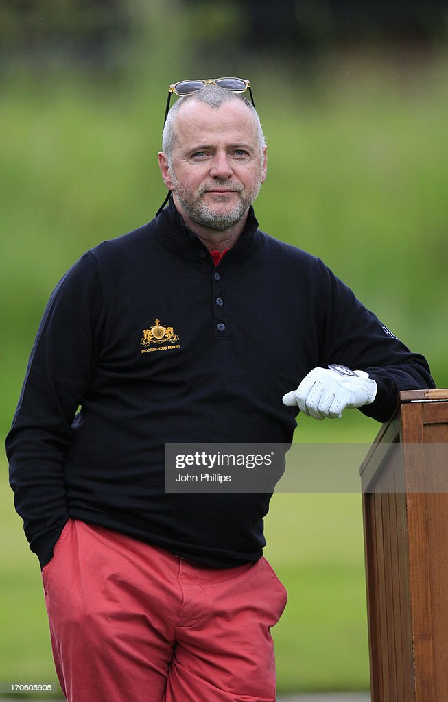 Aidan Quinn looks on during the Affinity Real Estate Shooting Stars Second Round at The Grove Hotel on June 15, 2013 in Hertford, England.