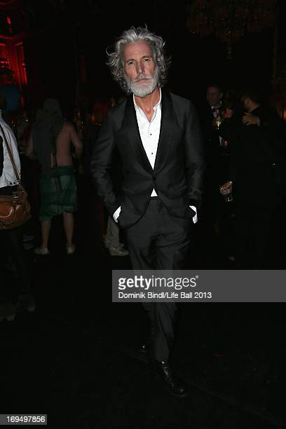 Aidan Shaw attends the 'Life Ball 2013 After Show Party' at City Hall on May 25 2013 in Vienna Austria