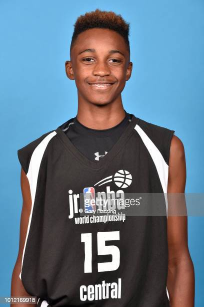 Aidan Shaw of United States Central Boys poses for a head shot during the Jr NBA World Championships Media Circuit in Orlando Florida at Disney's...