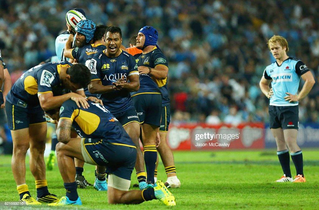 Super Rugby Rd 8 - Waratahs v Brumbies : News Photo