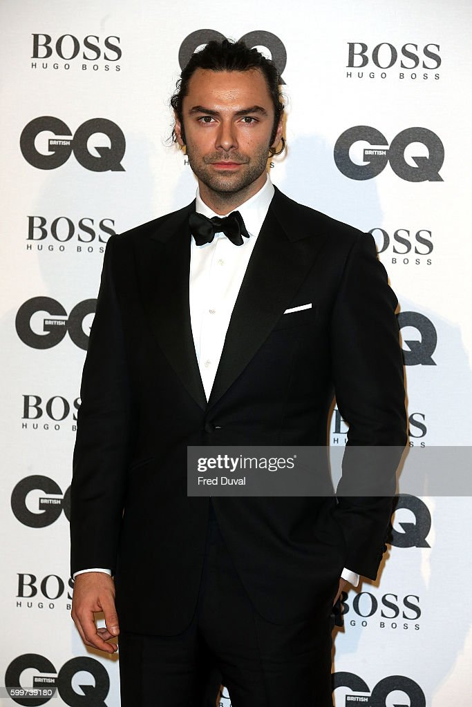 Aidan Turner arrives for GQ Men Of The Year Awards 2016 at Tate Modern on September 6, 2016 in London, England.