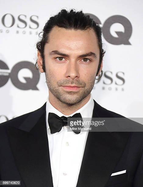 Aidan Turner arrives for GQ Men Of The Year Awards 2016 at Tate Modern on September 6 2016 in London England