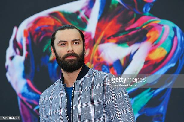 Aidan Turner attends 'Poldark' Photocall as part of the 56th Monte Carlo Tv Festival at the Grimaldi Forum on June 15 2016 in MonteCarlo Monaco