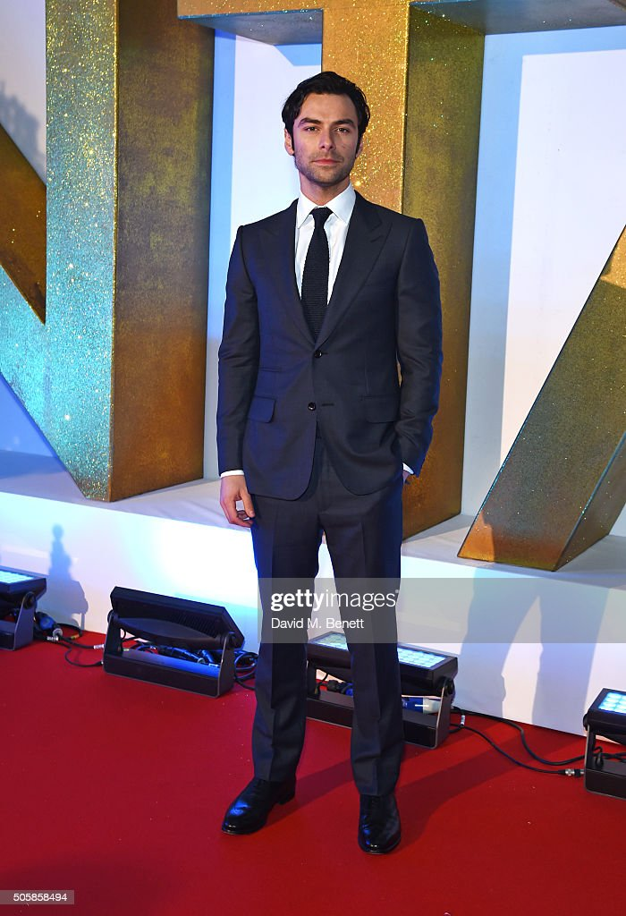 Aidan Turner attends the 21st National Television Awards at The O2 Arena on January 20, 2016 in London, England.