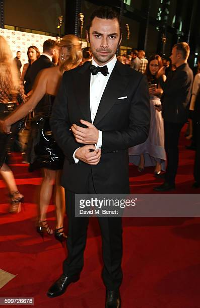Aidan Turner attends the GQ Men Of The Year Awards 2016 at the Tate Modern on September 6 2016 in London England
