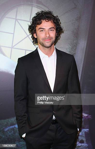 Aidan Turner attends the Irish Premiere of 'The Hobbit An Unexpected Journey' at Cineworld on December 9 2012 in Dublin Ireland