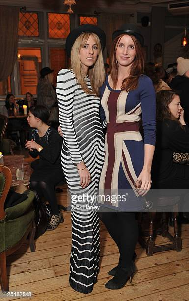 Aiden Aldred and Denise Higgins attend the first anniversary of Alice By Temperley at Paradise by Way of Kensal Green on November 25 2010 in London...