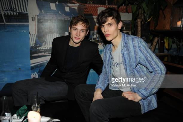 Aiden Andrews and Jerome guest attend AMY SACCO and SIR PHILLIP GREEN Celebrate TOPMAN at Bungalow 8 on February 15 2009 in New York City