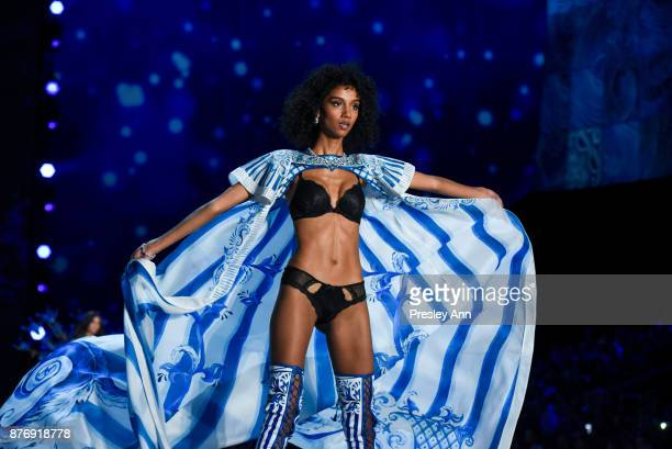 Aiden Curtiss attends 2017 Victoria's Secret Fashion Show In Shanghai Show at MercedesBenz Arena on November 20 2017 in Shanghai China