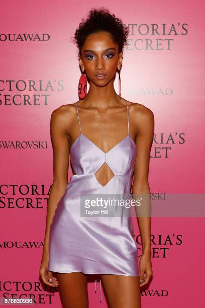 Aiden Curtiss attends the 2017 Victoria's Secret Fashion Show After Party on November 20 2017 in Shanghai China