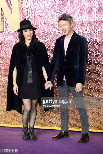 Aiden Gillan attends the World Premiere of 'Bohemian Rhapsody' at The SSE Arena Wembley on October 23 2018 in London England