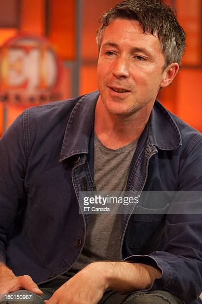 Aiden Gillen visits the ET Canada Festival Central Lounge at the 2013 Toronto International Film Festival on September 9 2013 in Toronto Canada