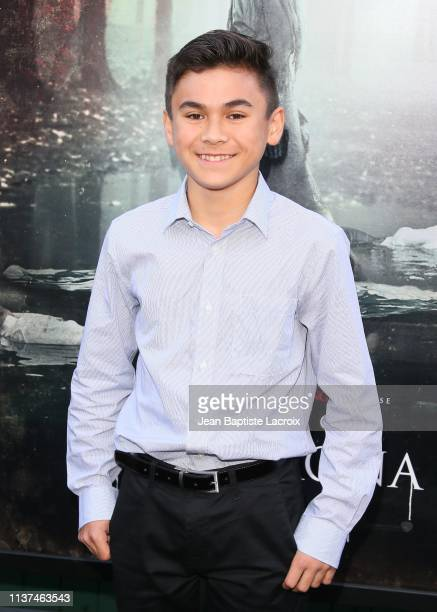 Aiden Lewandowski attends the premiere of Warner Bros' 'The Curse Of La Llorona' at the Egyptian Theatre on April 15 2019 in Hollywood California